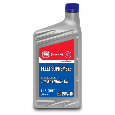 Fleet Supreme EC® Engine Oil 15W-40 (1 US Quart)