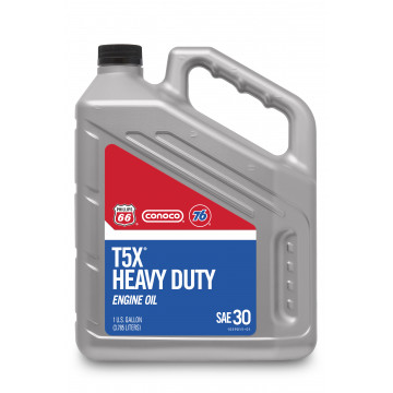 T5X® Heavy Duty Motor Oil, 30 (1 US Gallon)