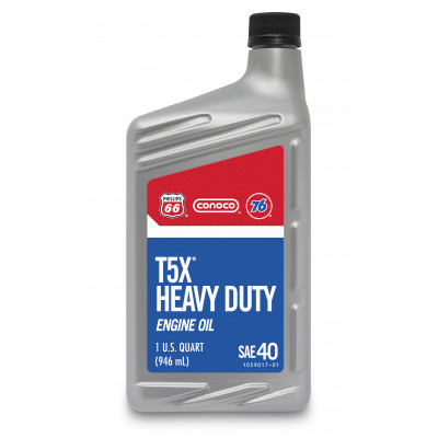 T5X® Heavy Duty Motor Oil, 40 (1 US Quart)