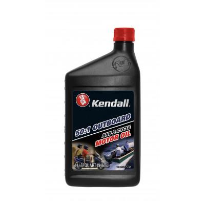 Kendall 50:1 Outboard & 2-Cycle Motor Oil