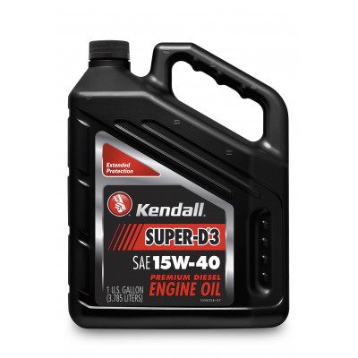 Kendall Super-D® 3 Diesel Engine Oil - Multigrade (15W-40)