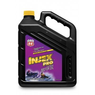 Phillips 66 Injex Pro 2-Cycle Snowmobile Oil