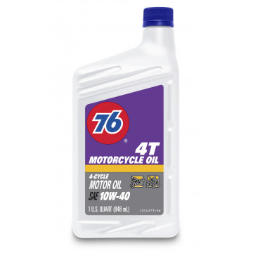76® 4T Motorcycle Oil, 10W-40
