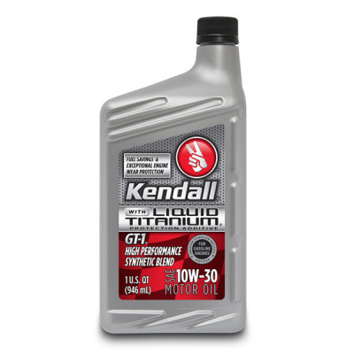 Kendall® GT-1® High Performance Synthetic Blend 10W-30