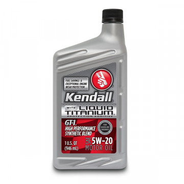 Kendall® GT-1® High Performance Synthetic Blend 5W-20
