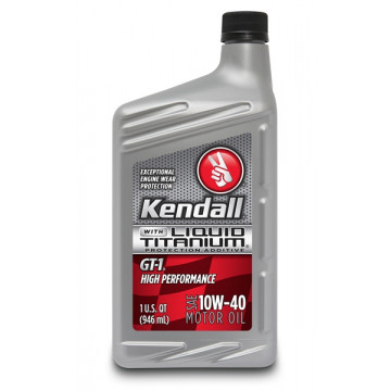 Kendall® GT-1® High Performance Synthetic Blend 10W-40