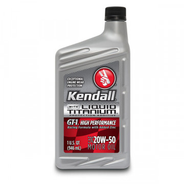 Kendall® GT-1® High Performance Synthetic Blend 20W50