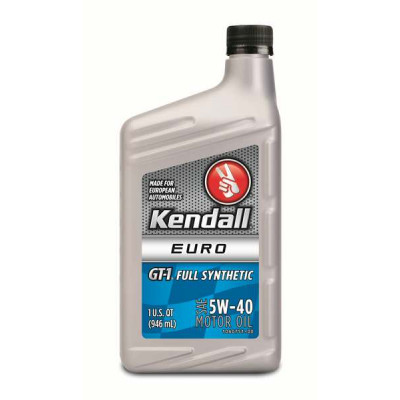 Kendall® GT-1® Full Synthetic Blend, Euro 5W-40