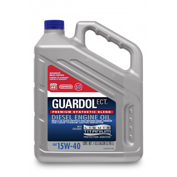 Guardol Ect Motor Oil 15w 40 1 Us Gallon