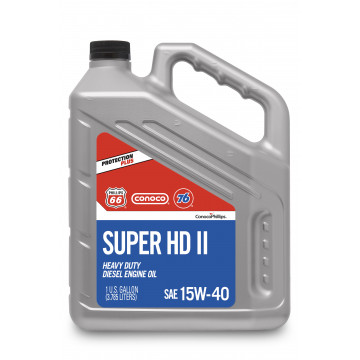 Super HD II Motor Oil 15W-40 (1 Галлон/3.785 л)