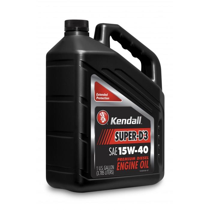 kendall super d 3 diesel engine oil multigrade 15w 40. Black Bedroom Furniture Sets. Home Design Ideas